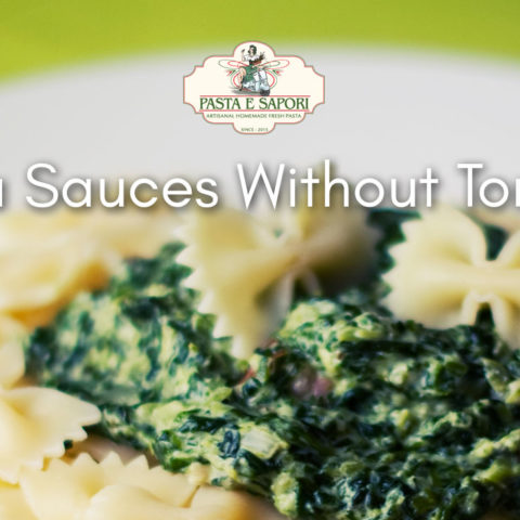 5 Pasta Sauces Without Tomatoes